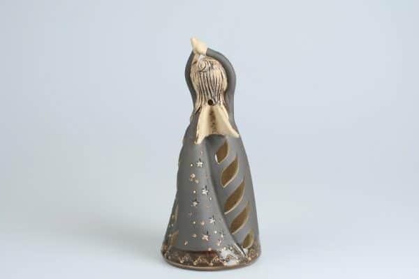 Töpferei Drehwurm Seelchen Engel Figur